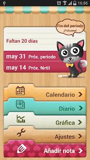 Calendario Menstrual Gratis