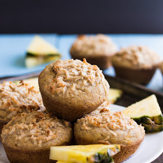 Coconut Pineapple Muffins (Vegan/GF)