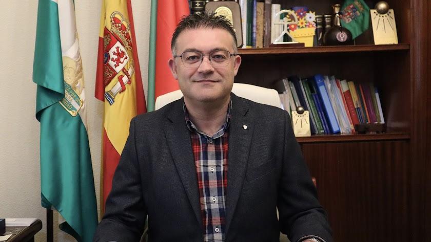 José Carlos Lupión, alcalde de Berja.