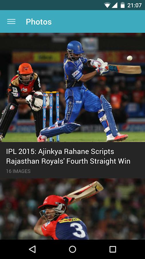 NDTV Cricket - screenshot