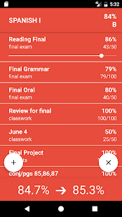 Grades for Parents & Students- screenshot thumbnail