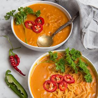 Thai Pumpkin Ramen Soup!