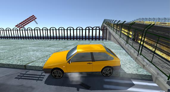 Samara Drift Simulator - náhled