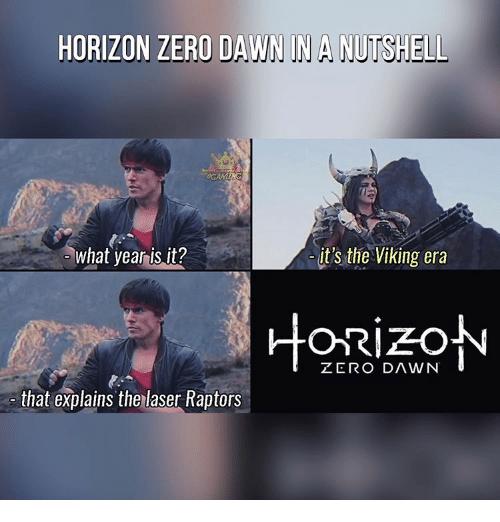 un meme marrant du jeu horizon zero dawn