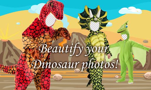 Dinosaur Kids Photo Montage