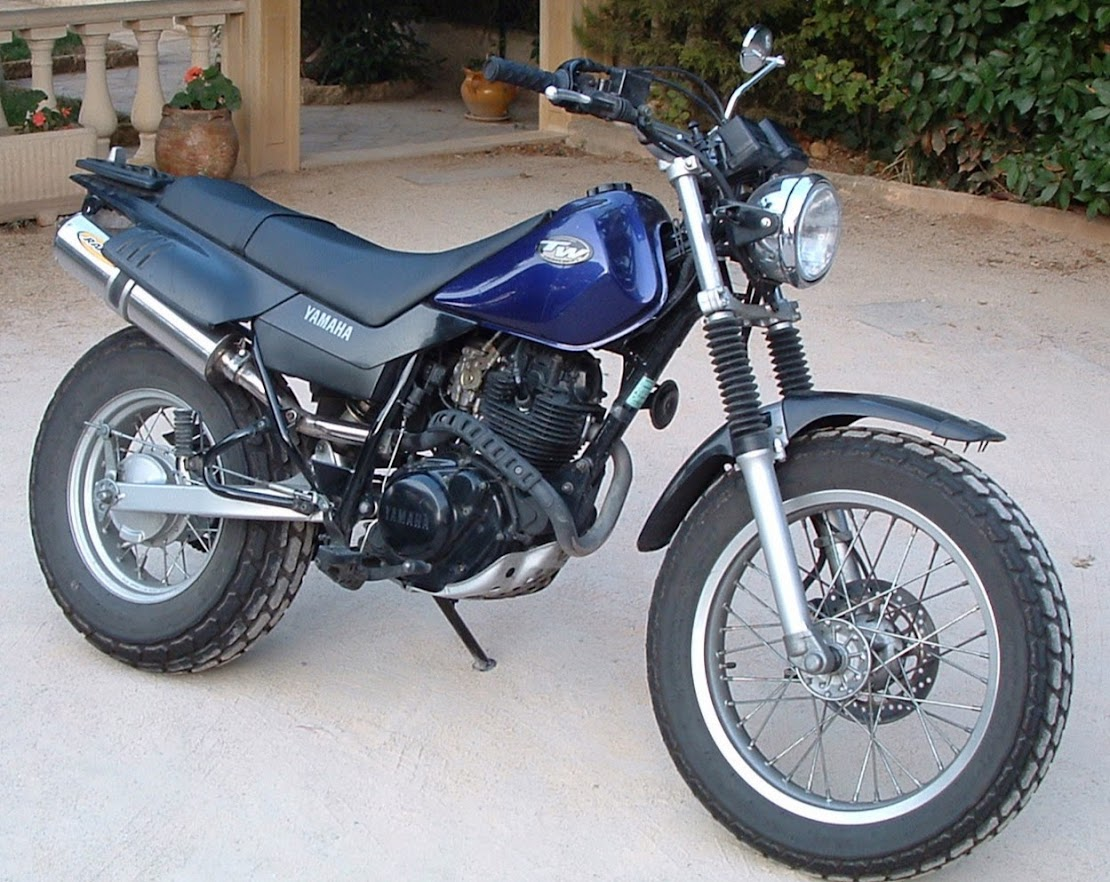 Yamaha TW 125-manual-taller-despiece-mecanica