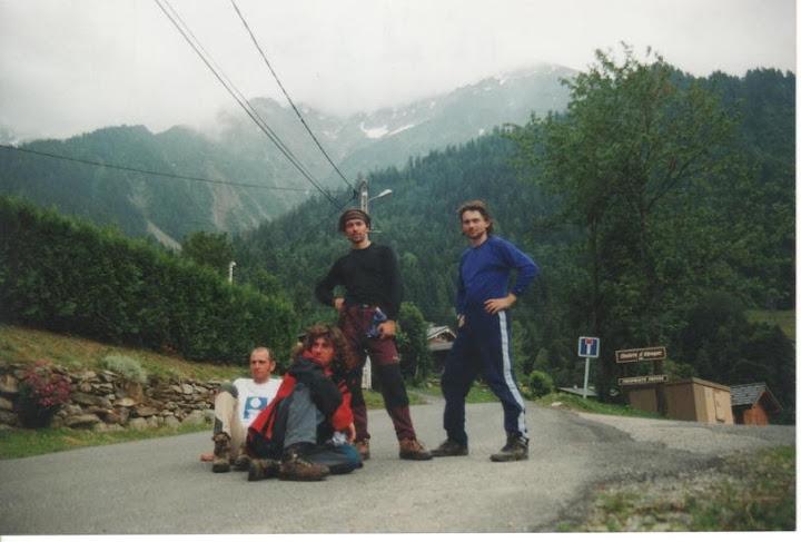 Arturo, Mundi, Manu e eu en Les Gens
