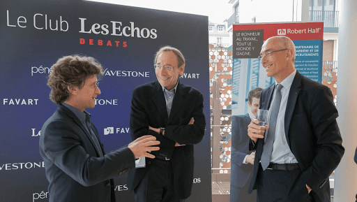 Club Les Echos Débats avec Benoît Potier, Président-Directeur Général d'Air Liquide