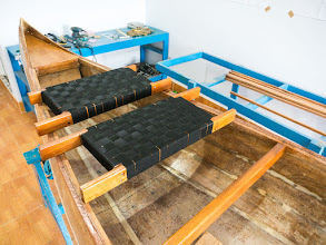Photo: the 2nd seat finished!