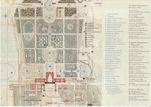 Photo: #006-Le plans des bosquets et des fontaines