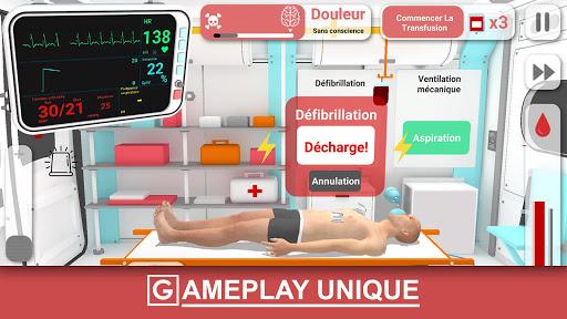 Télécharger Réanimation inc: Simulateur d'urgence réaliste APK MOD (Astuce) screenshots 1