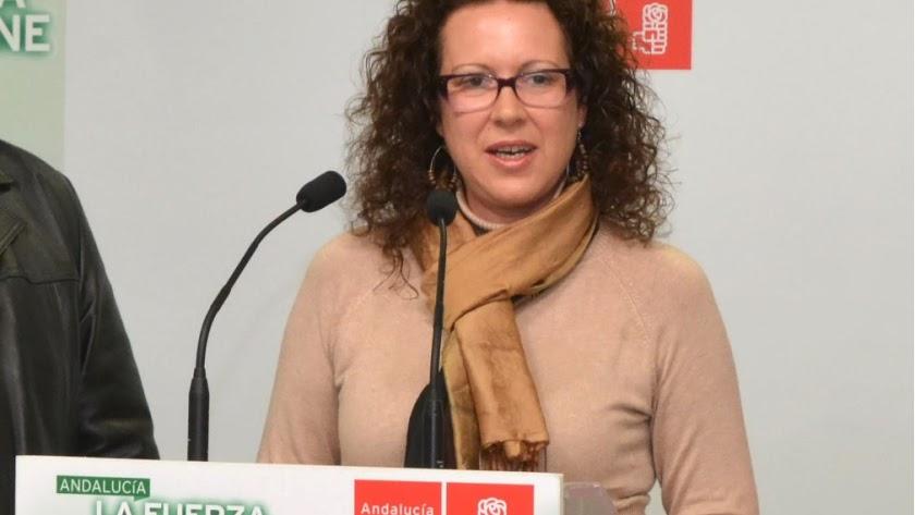 La alcaldesa de Garrucha, María López Cervantes, en una foto de archivo.