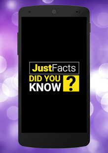 Just Facts: Did You Know?- screenshot thumbnail
