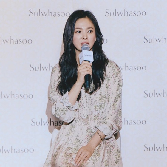 song hye kyo sulwhasoo 2