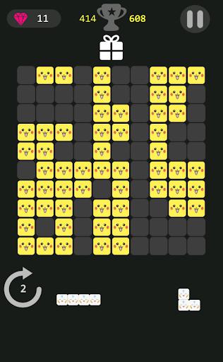 玩免費解謎APP|下載ピカチュウ Pikachu Block Puzzle app不用錢|硬是要APP