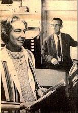 Photo: Mr & Mrs Barnes Wateringbury Postmaster 1971