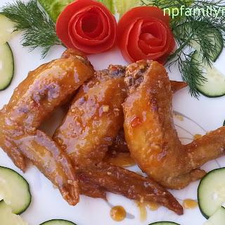 Fish Sauce Chicken Wing Recipe (Cánh Gà Chiên Nước Mắm)