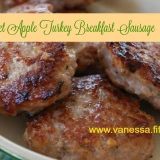 Sweet Apple Turkey Breakfast Sausage