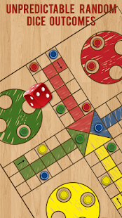 Ludo Parchis Classic Woodboard- screenshot thumbnail
