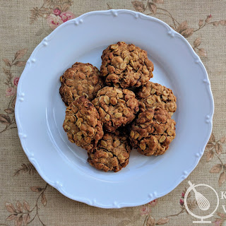 Oat and Ginger Cookies.