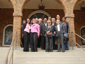 Photo: LA Delegation in front of the 16th Street Baptist Church, Birmingham, AL