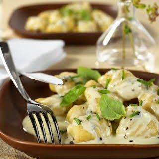 Blue Cheese Pasta Dumplings.