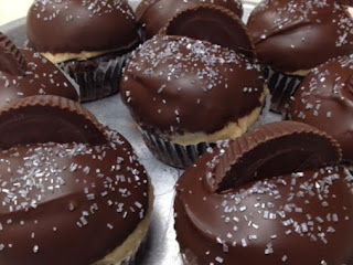 Reese Cup Cupcakes (buckeye Cupcakes) Recipe
