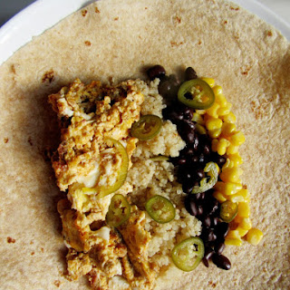 Make-Ahead Southwestern Breakfast Burritos with Quinoa