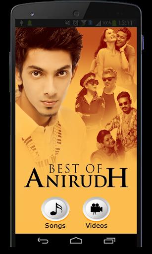 Best Of Anirudh Songs  screenshots 1