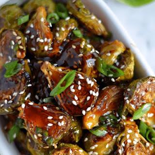 Teriyaki Brussel Sprout (Vegan+ Gluten-Free) Recipe