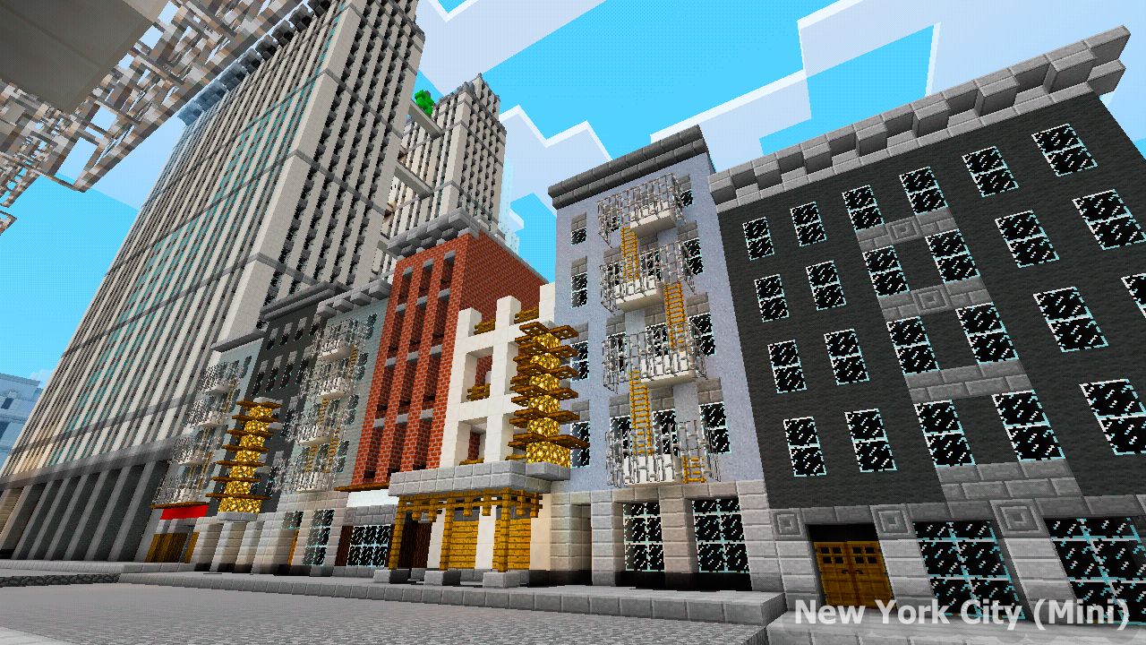 New York City Map For MCPE Android Apps On Google Play - New york map in minecraft