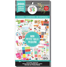 Me & My Big Ideas Happy Planner Sticker Value Pack - MINI Seasonal 2