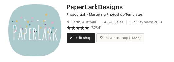 Etsy top seller Alys Maley Paper Lark Designs
