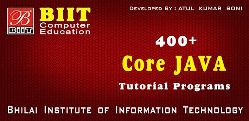 Java J2se Tutorial Pdf