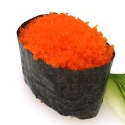 Orange Fish Roe Gunkan