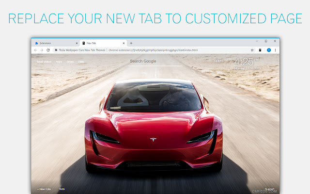 Tesla Cars Wallpapers New Tab - freeaddon.com