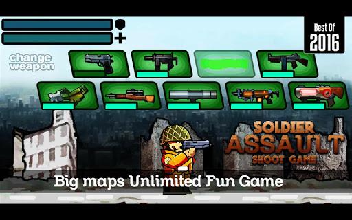 無料动作Appの兵士アサルトシュートゲーム|記事Game