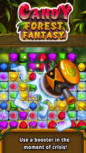Candy forest fantasy : Match 3 Puzzle  screenshots 11