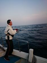"Photo: 初乗船の""今泉さん""! アラカブでした。"