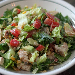 Chicken Taco Chop Salad.