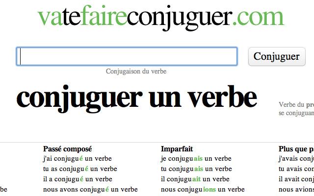 Conjugaison Vatefaireconjuguer