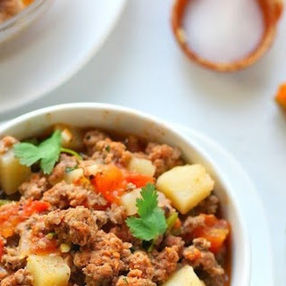 Easy Picadillo recipe - Ground beef and Potatoes