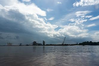 Photo: near Cát Lái harbor