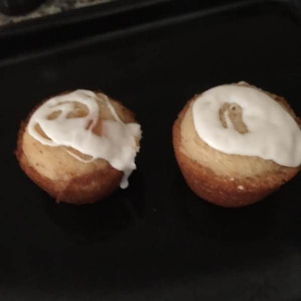 Easy, Quick To Make, Delicious Glazed Muffins, Who Can Stop At One?