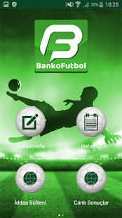 Banko Futbol - náhled