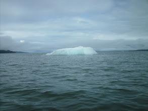 Photo: A small iceberg in Frederick Sound.