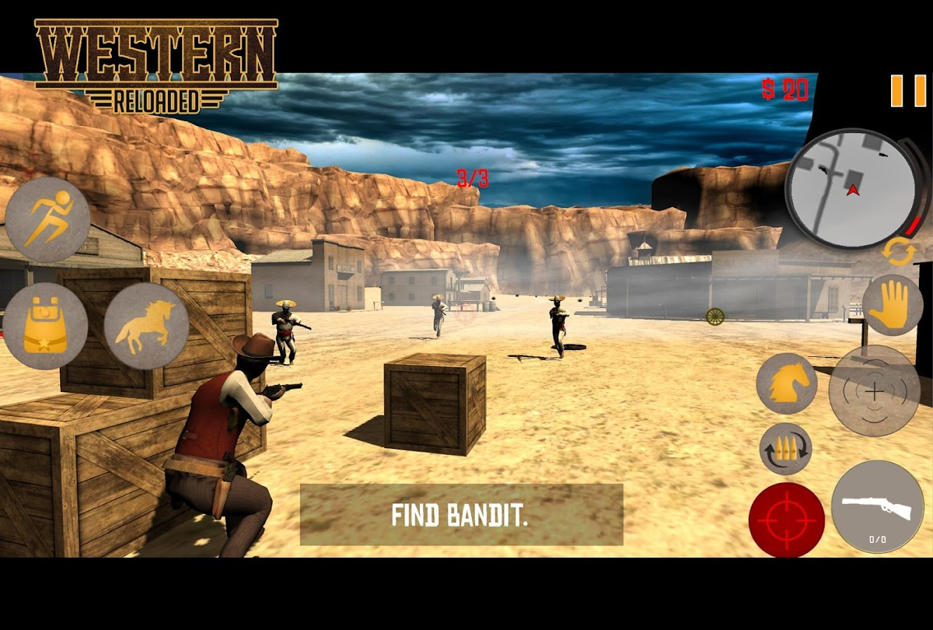 R Western Dead Reloaded (Sandbox styled Action)- screenshot