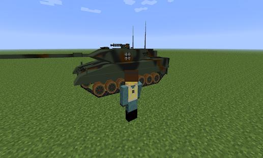Mod War Tank for MCPE - náhled