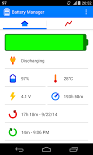Battery Manager Screenshot