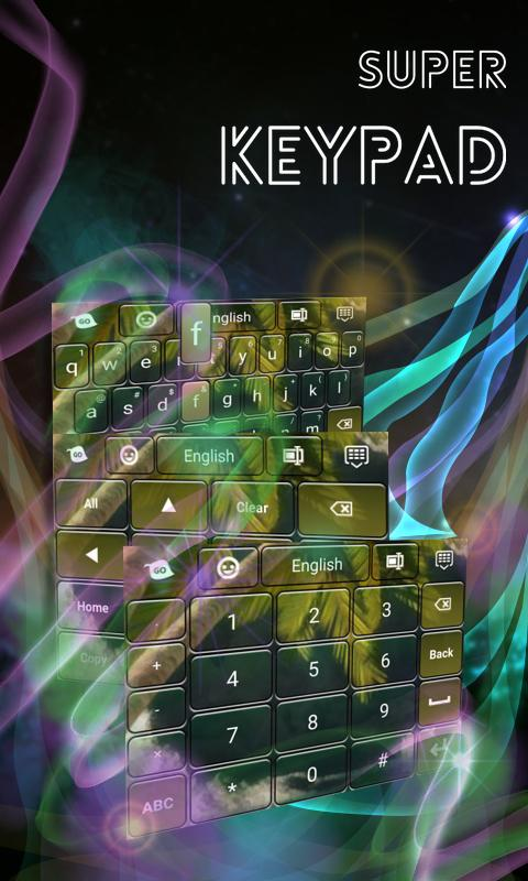 Super Keypad- screenshot